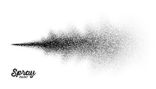 Spray Paint Splatter Pattern