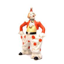 Porcelain Vintage Clown Figurine