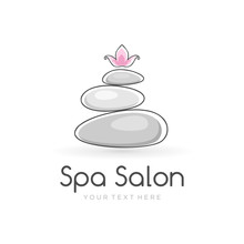 Harmony Spa Logo Template For ...