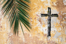 Palm Sunday Religion And Easter Holiday Concept Background