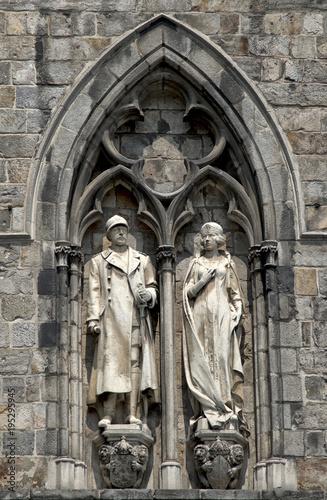 Photo  Statues à Ypres, Flandres, Belgique