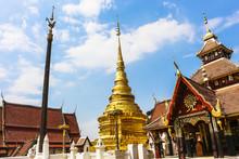 Wat Pongsanook Temple Lampang City Thailand