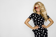 Beautiful, Sexy Blonde Woman I...