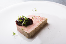 Meat Pate On A Plate