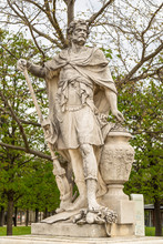 Hannibal Barca Counting The Rings Of The Roman Knights Killed At The Battle Of Cannae, For Versailles, 1704 Tuileries Garden