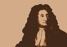 Jean De La Fontaine - Portrait...