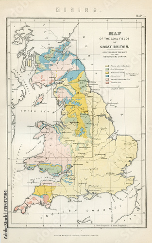 Map Of England 1800.Vintage Map Of Great Britain Early 1800 Antique Maps Of The World