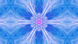 canvas print picture - Kosmische Lichtschwingung Lichtwelle Seele
