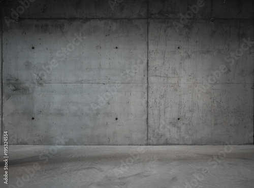 Fotobehang Betonbehang Modern concrete background wall texture for composing