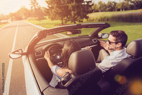 Photo  Friends, friendship, destination, auto vehicle rent, escape, speed ride