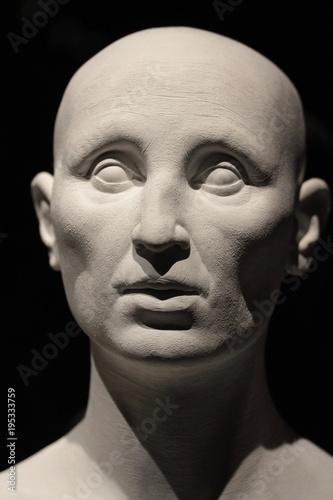 Fotografie, Obraz  dettaglio di testa umana in un manichino
