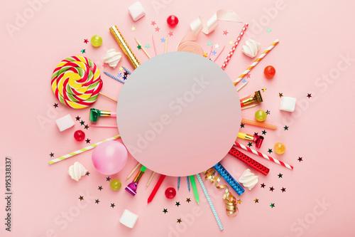 Valokuva  Children birthday party background