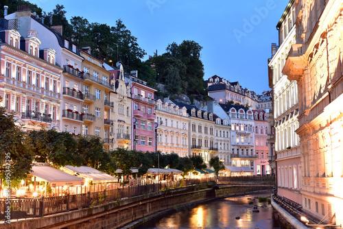 Obraz na plátně  Karlovy Vary. West Bohemia. Czech Republic