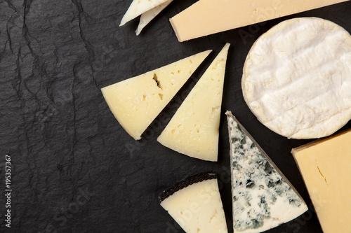 Fototapeta  Different sorts of cheese