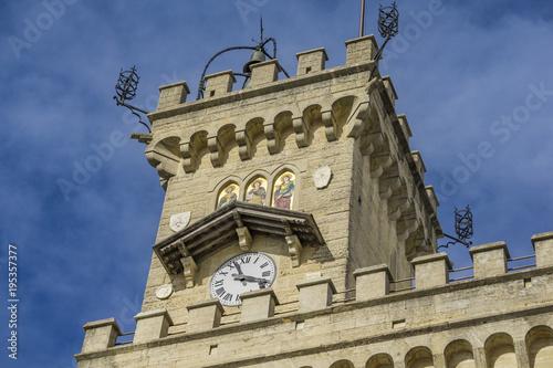 Poster Artistiek mon. Palazzo Pubblico in San Marino