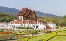 The Royal Ratchaphruek Park At Chiang Mai, Thailand.