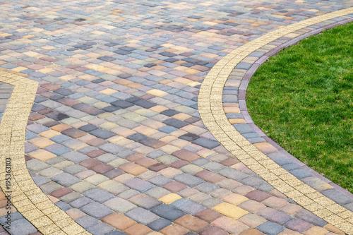 Fotografía Paving pattern, texture, structure, pavement