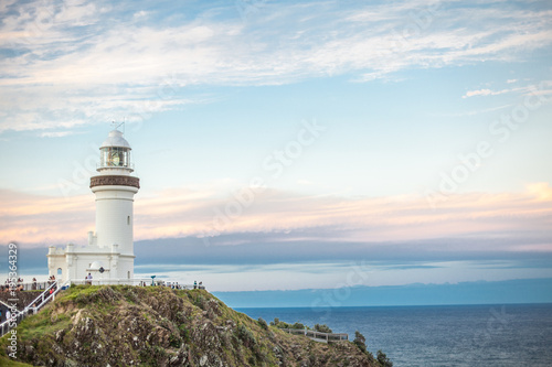 Valokuvatapetti lighthouse in byron bay australia