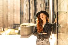 Urban Girl Posing