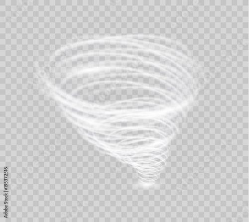 Obraz na plátně A glowing tornado
