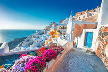 Santorini, Greece. Picturesq V...