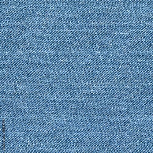 Seamless blue denim texture. Repeating pattern Fototapet