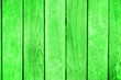 canvas print picture - Green wooden background pattern with copy space