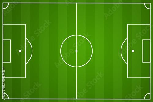 Obraz Fußballfeld | soccer field - fototapety do salonu