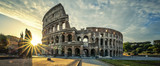View of Colloseum at sunrise - 195396711