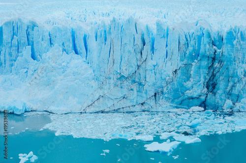 Poster Glaciers Edge of Perito Moreno glacier.