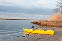 Horizontal View Of A Yellow Ka...