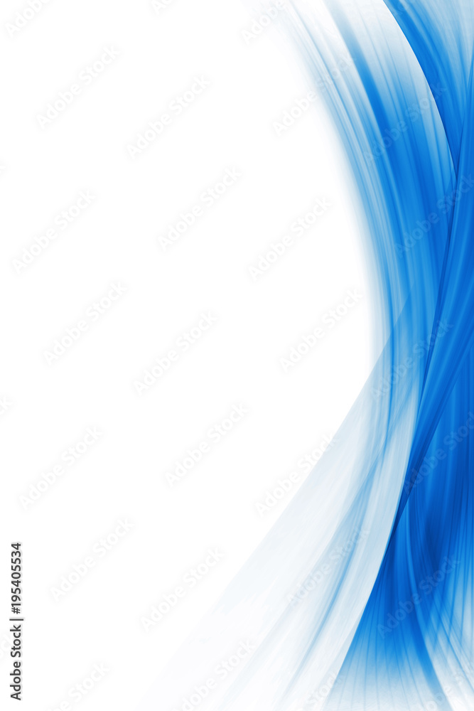 Fototapety, obrazy: Blue Abstract Background