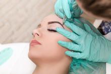 Microblading Eyebrows Work Flo...