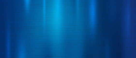 Fototapeta Blue metal texture background vector illustration