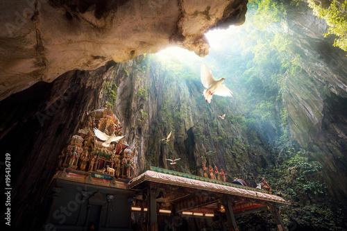 Fotobehang Kuala Lumpur Batu Cave temple