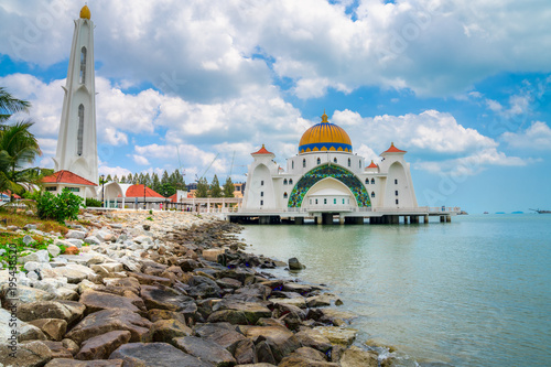 Malacca Straits Mosque, Malaysia Poster
