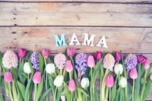 Muttertag - Blumenstrauß - Bl...