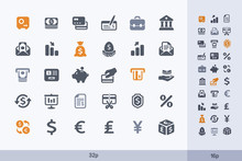 Money & Banking - Carbon Icons...