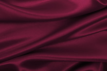 Smooth Elegant Pink Silk Or Satin Luxury Cloth Texture As Abstract Background. Luxurious Background Design