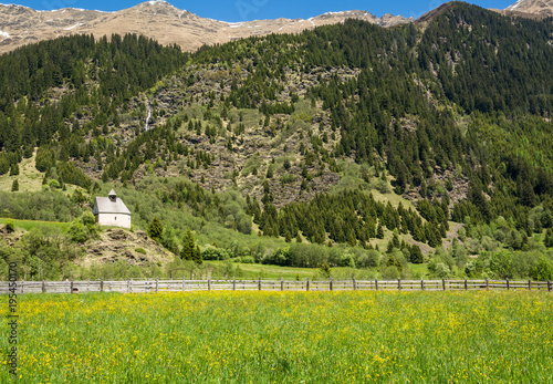 Obraz na plátně  South Tyrol, Ridnaun Valley
