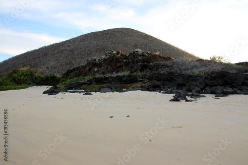 Poster South America Country Faszinierende Landschaft am Pazifischen Ozean auf den Galapagos Inseln