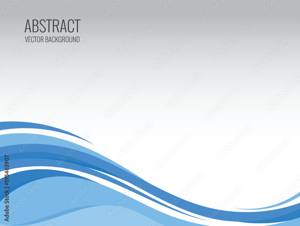 Fototapety, obrazy: abstract wave vector backgrounds