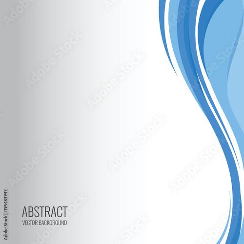 Fototapeta abstract wave vector backgrounds obraz na płótnie