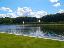 Pond Near The Marley Palace. P...