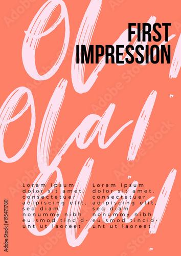 Hello in different language poster ola spanish greetings vector hello in different language poster ola spanish greetings vector hand lettering modern m4hsunfo