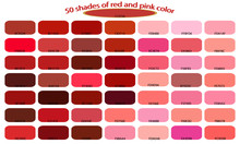 50 Shades Of Red Pink Colors I...