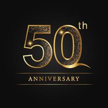 Anniversary,aniversary, Fifty Years Anniversary Celebration Logotype. 50th Anniversary Logo, 50th Years, 50