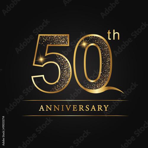 Papel de parede  anniversary,aniversary, fifty years anniversary celebration logotype
