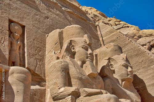 Obraz na plátne  Abu Simbel