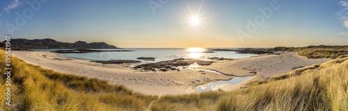 Valokuva Panoramic shot of Sanna Bay with sun shining, Ardnamurchan Peninsula, Scotland
